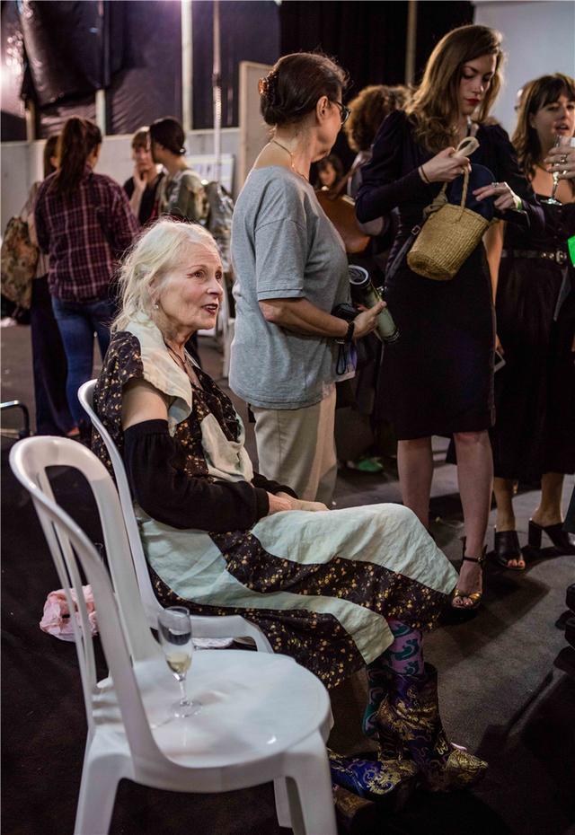 Vivienne Westwood独家专访:希望人们少买垃圾服装(图9)