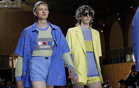 采用男女装合并走秀的品牌持续增加 这次是Kenzo