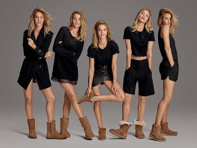 雪地靴可以穿的美,AB光腿穿、周冬雨只爱基本款