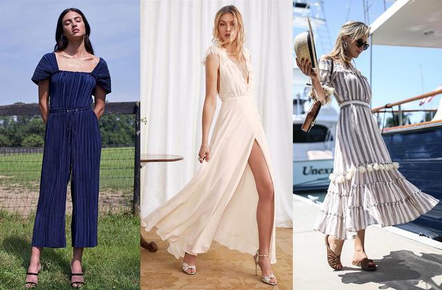 在夏天没有V领、方领、一字领的衣橱是不完整的!因为它们能让你瘦瘦瘦!