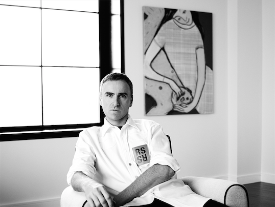 CALVIN KLEIN任命Raf Simons为品牌首席创意总监