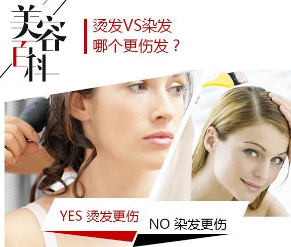 美容百科:烫发VS染发 哪个更伤发?