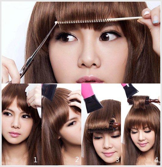 时尚MM教你剪出超自然刘海 护发发型设计