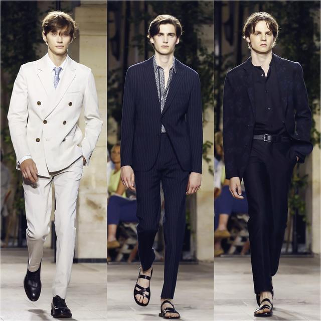 Hermès 优雅绅士诗意穿衣 云淡风清