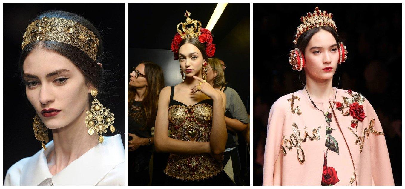 图片来自Dolce & Gabbana 秀场