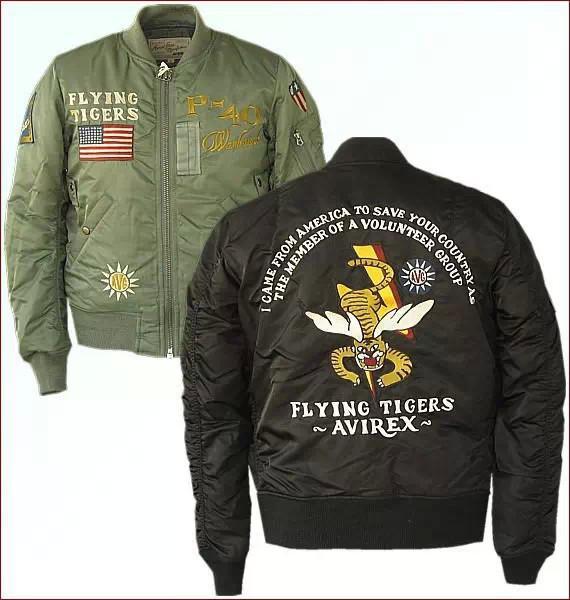 90秒知道 如此酷炫 飞行员御用夹克进身时尚圈