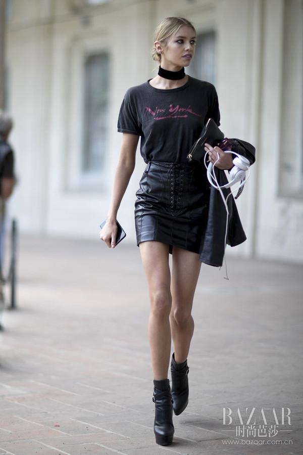 倪妮Baby都在学的穿搭术,就是夏天再热也要全黑显瘦?!