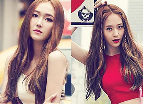 同发型不同味 闺蜜发型请参考少女时代图片