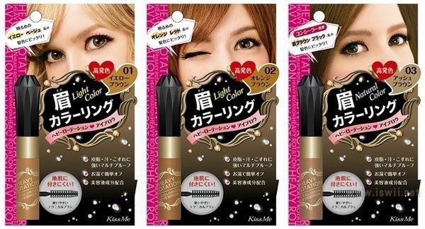 6种眉妆单品,化妆包里一定不能缺