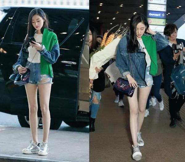 女明星的腿全都白细直?女明星的腿型真的没那么好看 时尚潮流 第3张