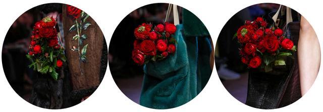 包包中的玫瑰