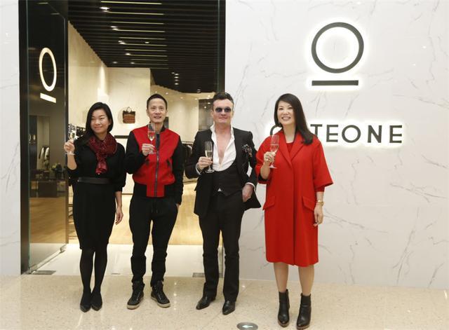 法国轻奢男装GATEONE品牌正式入驻上海虹桥天地购物中心