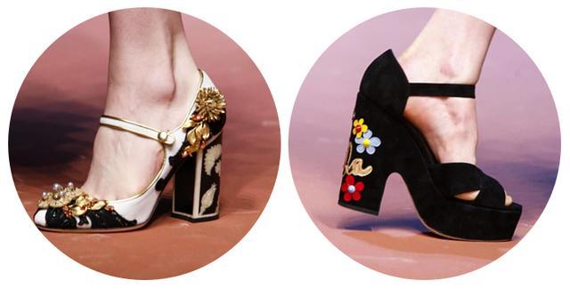 细节精致的美鞋