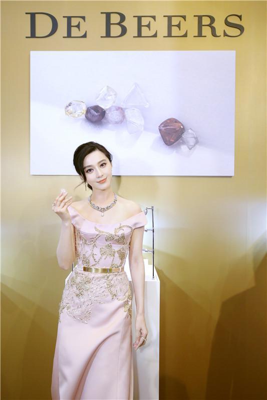 """范冰冰展诠释别样珠宝,展现""""唯永恒 可比拟""""的魅力"""