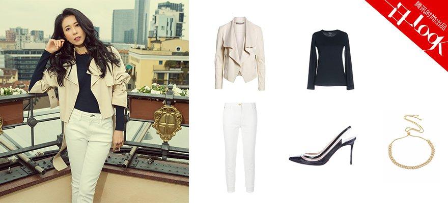 学莫文蔚的职业装让你成办公室的时髦精