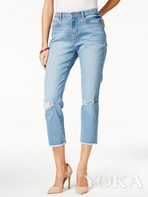 贝嫂竟然安利了一款90%的人都穿不好牛仔裤