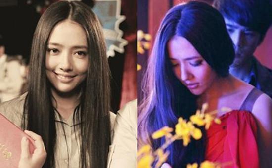 小时代中最清新脱俗的文艺女南湘发型也有了大转变,为配合剧情,郭碧婷图片