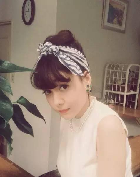 学腾讯发型剪一个半长不短头吧!_妹子_樱花网适合小方脸的短时尚图片