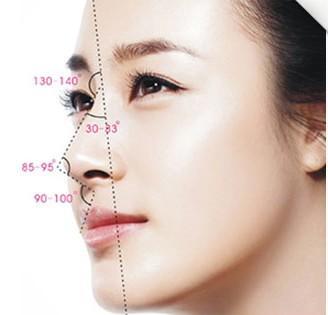 欧式隆鼻效果图片