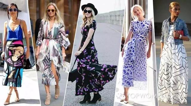 print dresses