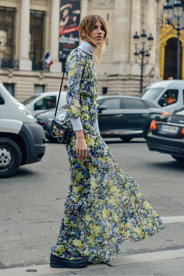 花花纱裙让夏天的每一天,都像度假一样心情大好