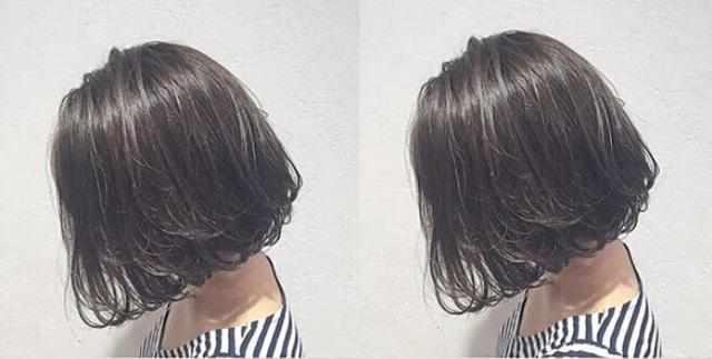 让黑发不只黑色而已 今年流行给头发化上雾面妆图片