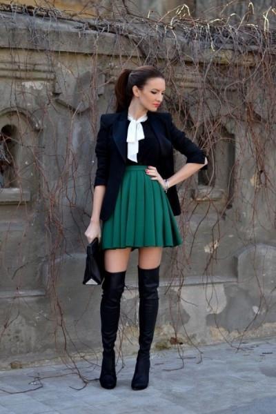 为什么我总是穿不好百褶裙?