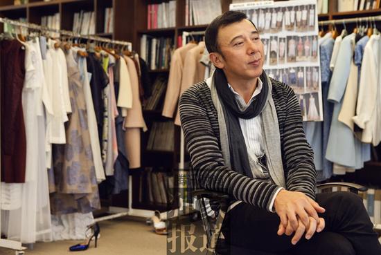 腾讯时尚独家专访谢锋:中国设计可以走在大路上