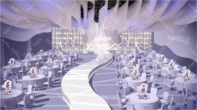 传统婚礼策划已经out 来看高大上婚礼创意