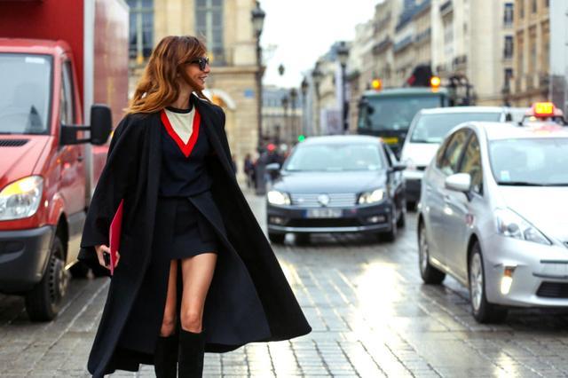 那些高定场外的穿衣精 街拍搭配不输设计师