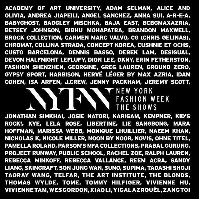 超强剧透!2016春夏纽约时装周精彩来袭,全是惊喜哦!