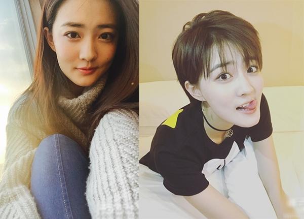 刘诗诗头发剪到了史上最短,贵圈太多女星短发剪上瘾图片