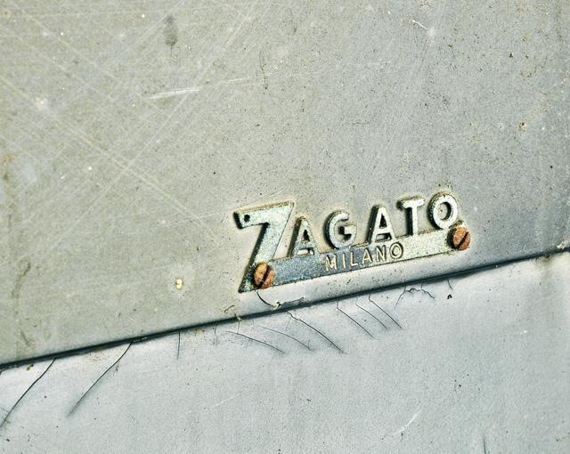 车身上的 Zagato 标识