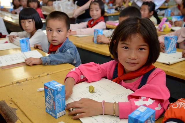 维他奶温暖陪伴山区孩子健康成长