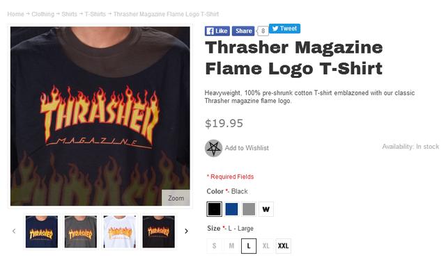 款爺GD最愛的火焰T恤,終於有一個能買的起的同款了!