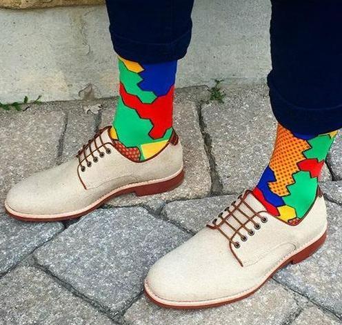 今天穿什么: #露脚踝后果很严重# 穿袜也照样时髦