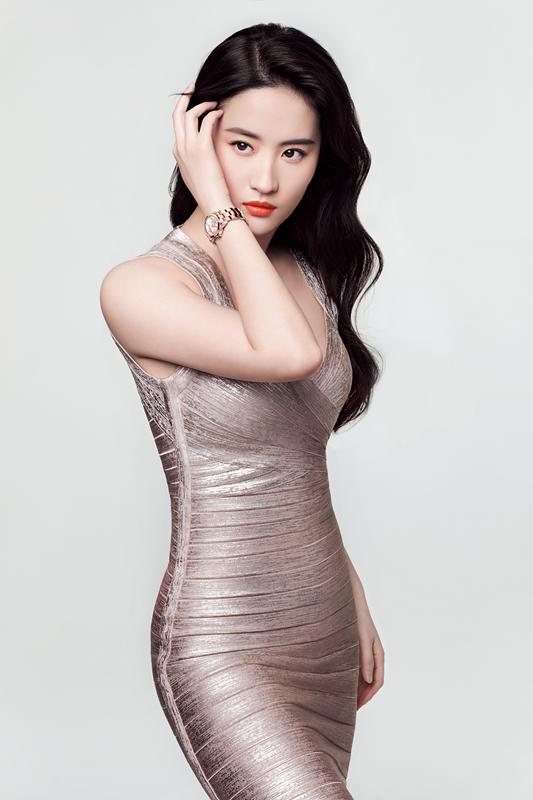 这一刻再现东方魅力 刘亦菲获选电影《花木兰》女主角
