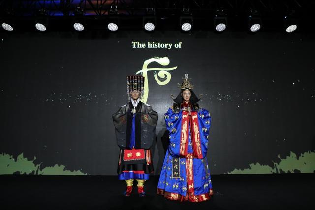 The history of 后宫廷宴享隆重举行