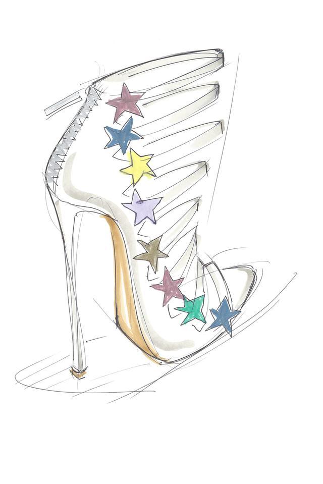 水果姐进军时尚圈 打造个人鞋履品牌