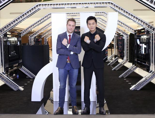 HUBLOT宇舶表揭幕法拉利主题北京SKP特展 与李晨携手呈现创意和激情的精湛融合