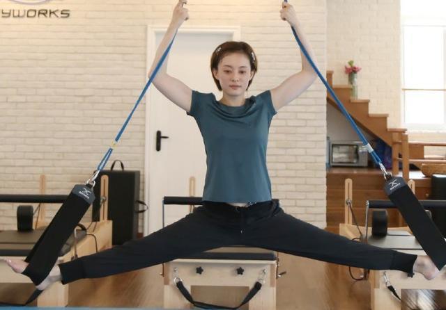 孙俪昆凌说:瑜伽不止给了我好体态,最重要的是好心态!