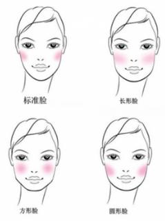 赵丽颖靠腮红减掉了婴儿肥,原来涂腮红也要看脸型