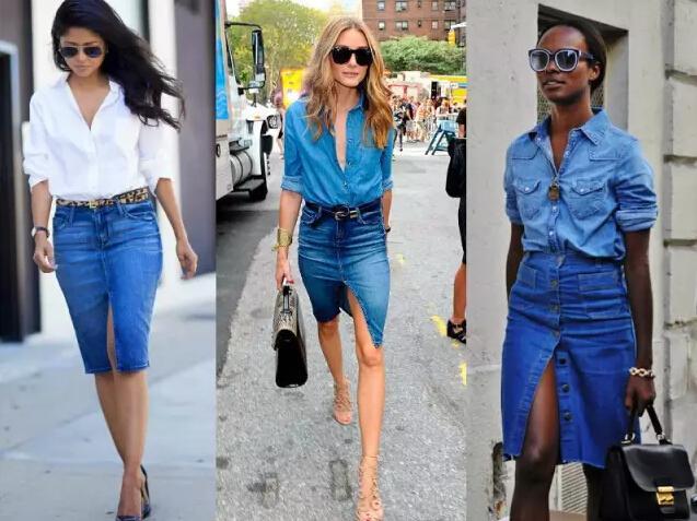 有了这四条攻略 不要再穿普通的牛仔裙了!