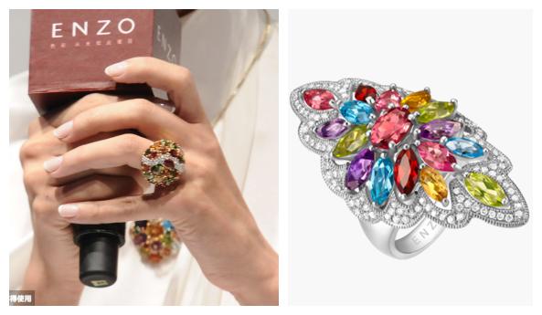 ENZO珠宝十年庆典 明星美钻华服连连看
