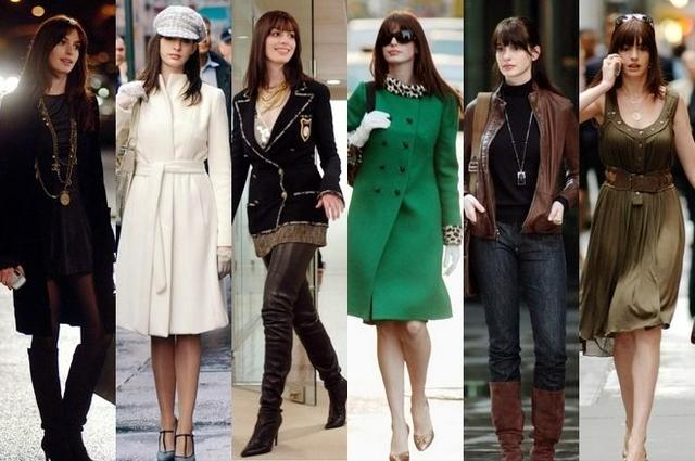 安妮 海瑟薇从Emily穿成时尚女魔头只用6招图片