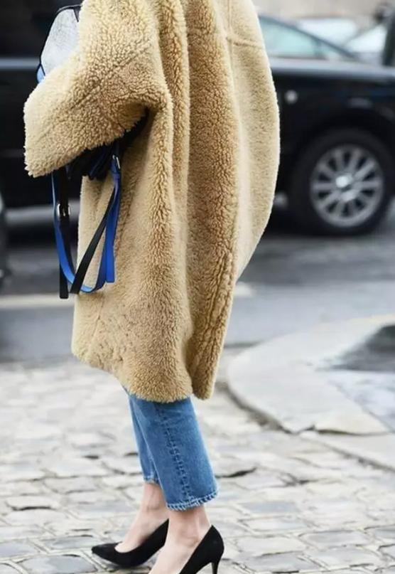 大衣,够长才有型