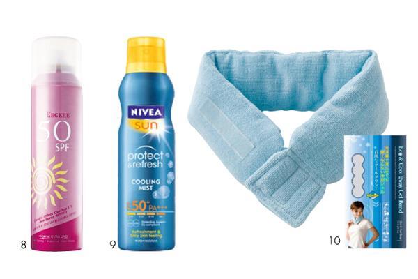 清凉一夏 10款降温美妆品让你凉到叫!