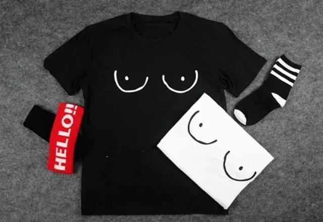 90秒知道 让阿娇胸型毕露的T恤 这年头连T恤都不安分了