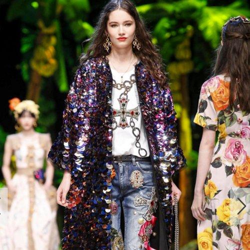Dolce&Gabbana 2017春夏系列 沙滩阳光需要你美!