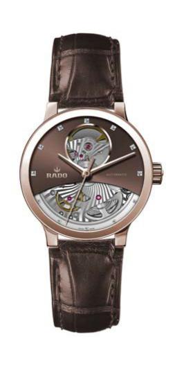 瑞士雷达表推出全新Centrix晶萃系列开芯腕表